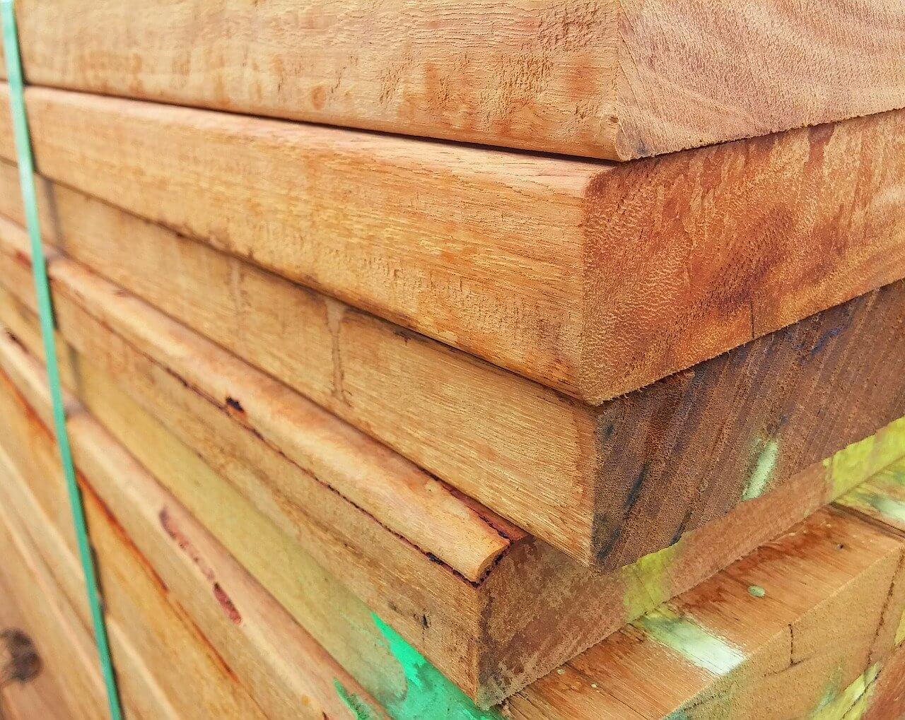 Timber frame disposal