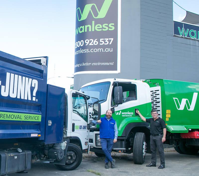 1800-GOT-JUNK? and Wanless Waste Management